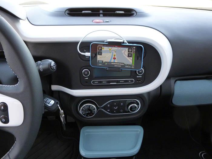 Renault Twingo 2015. Climatizador y R&GO