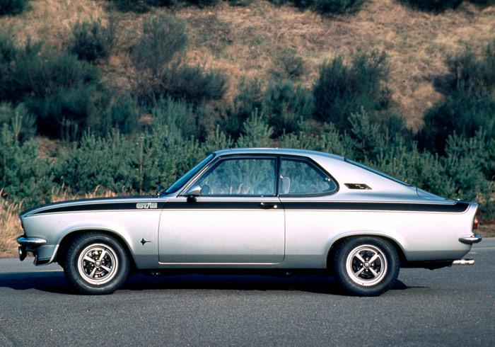 Siguiente antecesor: el Manta GT/E de 1970, también 1.9. Este ya es de cuatro plazas, y estaba basado en el Ascona.