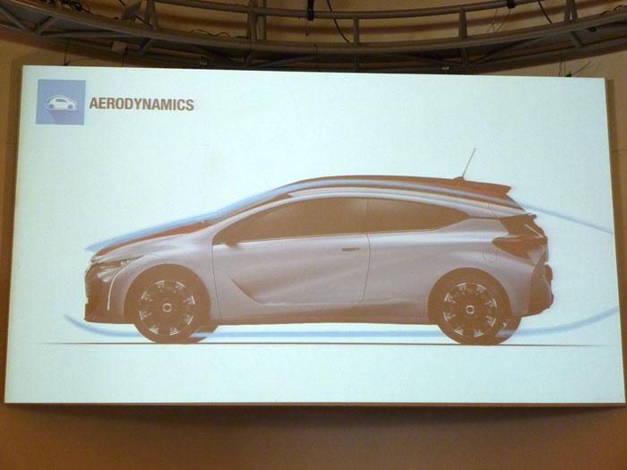 Renault Eolab.  Aerodinámica