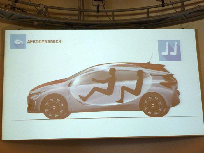 Renault Eolab.  Espacio para pasajeros