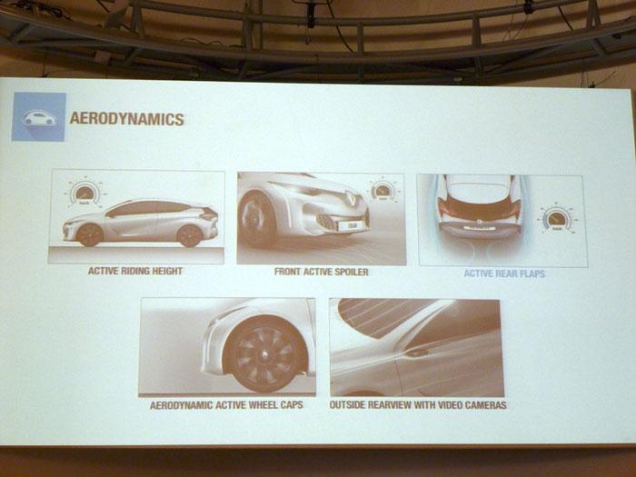 Renault Eolab. Elementos y aerodinámica