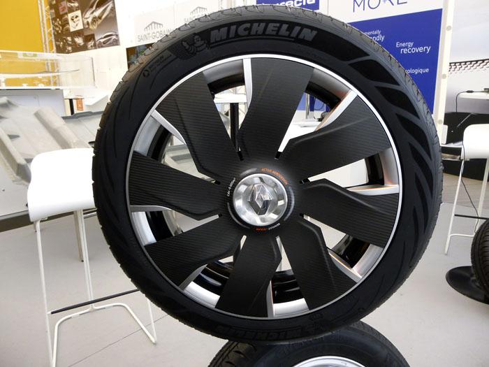 Renault Eolab. Llanta abierta