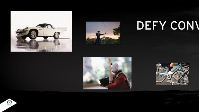 Mazda2. Presentación de diseño. Ryo Yanagisawa, jefe de diseño. Exterior (1 de 2)
