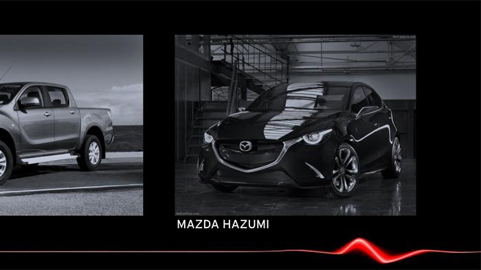 Mazda2. Diseño. Design. Mazda Hazumi.