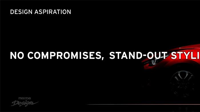 Mazda2. Diseño. Design. No compromises. Sin compromisos.