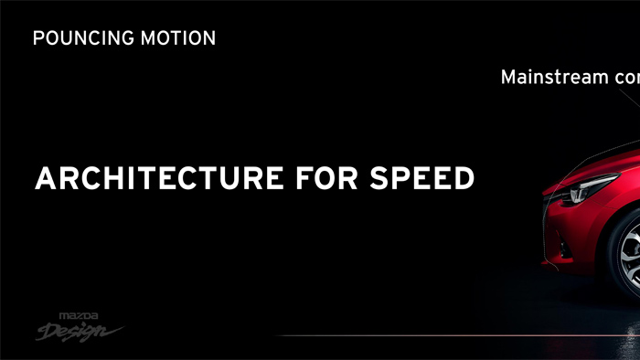 Mazda2. Diseño. Design. Speed. Velocidad.