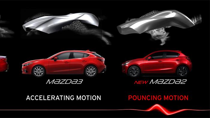 Mazda2. Diseño. Design. Puncing Motion