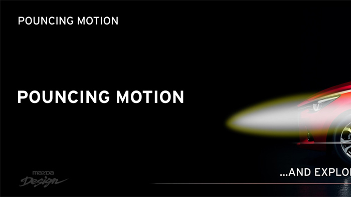Mazda2. Diseño. Design. Pouncing Motion