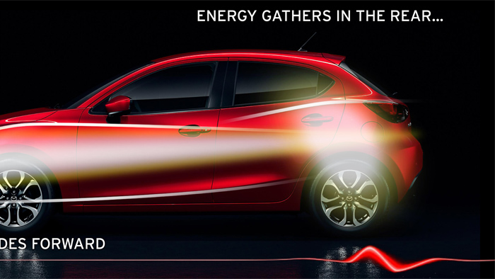 Mazda2. Diseño. Design. Energy