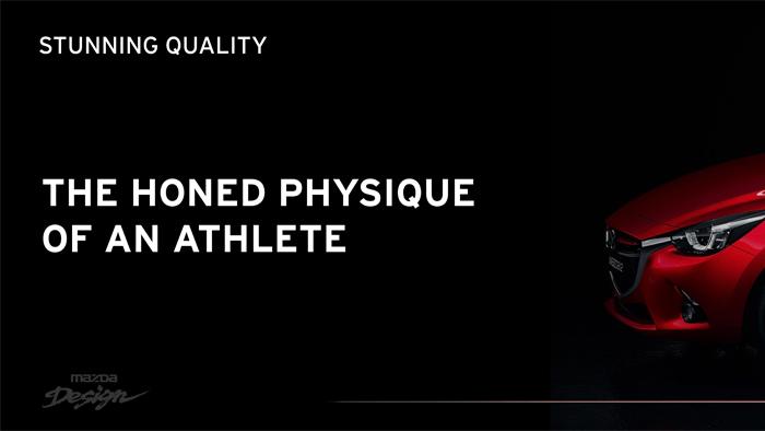 Mazda2. Diseño. Design. Athlete