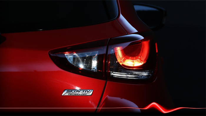 Mazda2. Diseño. Design. Rear lamps