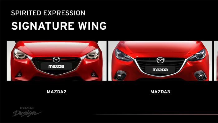 Mazda2. Diseño. Design. Familia