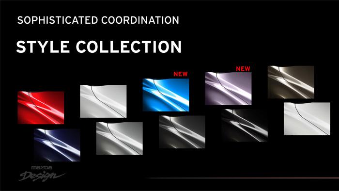 Mazda2. Diseño interior. Consola y salpicadero. Gama de colores