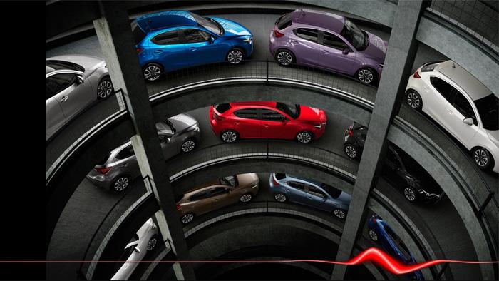 Mazda2. Diseño interior. Colores exteriores