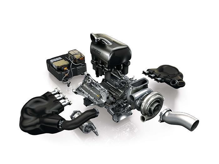 El proyecto más complejo: tras de haber iniciado su andadura en F.1 precisamente con un coche completo impulsado por un motor 1.5 V6 Turbo, y luego haber fabricado los atmosféricos 3.0 V10 y 2.4 V8 para venderlos a escuderías clientes, Renault sigue embarcada en la construcción de motores para F.1, ahora con la complejísima tecnología de un 1.6 V6 Turbo con doble sistema de recuperación de energía.