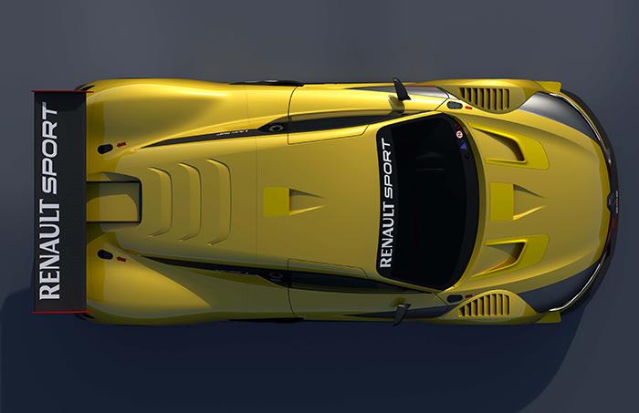 Visto en planta, se confirma en el RS.01 la preocupación por ofrecer un diseño limpio y estilizado, aunque quizás no sea el más eficiente. Si tuviesen que competir con coches de otras procedencias, es muy probable que empezarían a aparecer agujeros y pequeños alerones por todas partes.