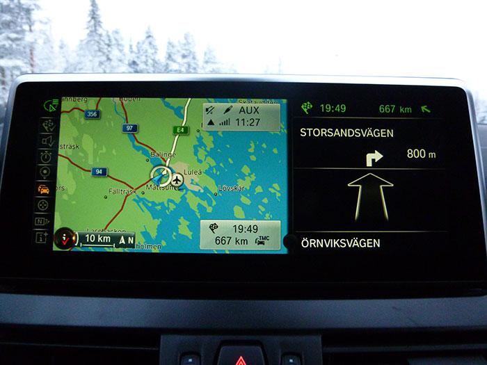 Auroras77. Ruta del día 8. Lulea Tromso.