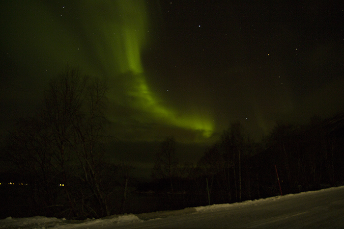 Sí. ¡Auroras Boreales! Auroras77.