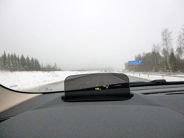 Auroras77. BMW 220 Active Tourer. Velocidad en autopista seca