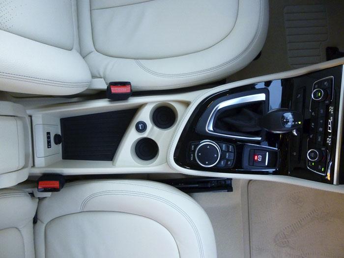 Consola central - BMW 220d xDrive Active Tourer
