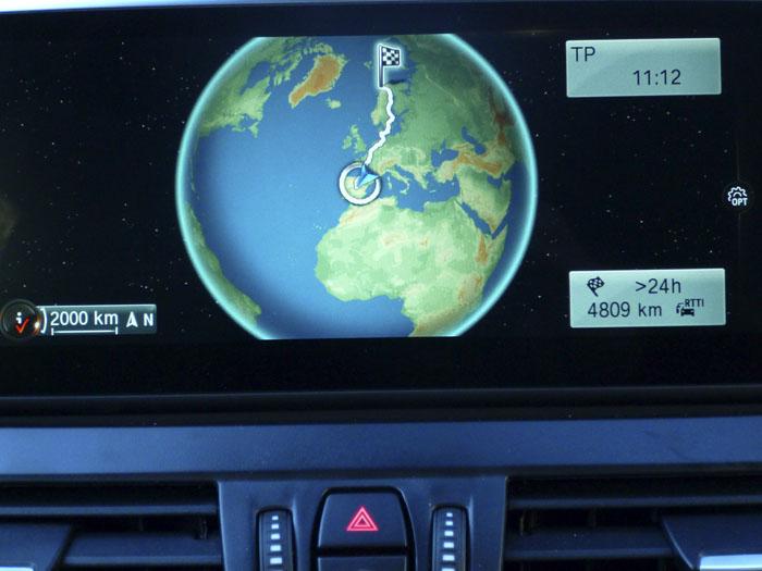 Madrid - Tromso. 4809 km