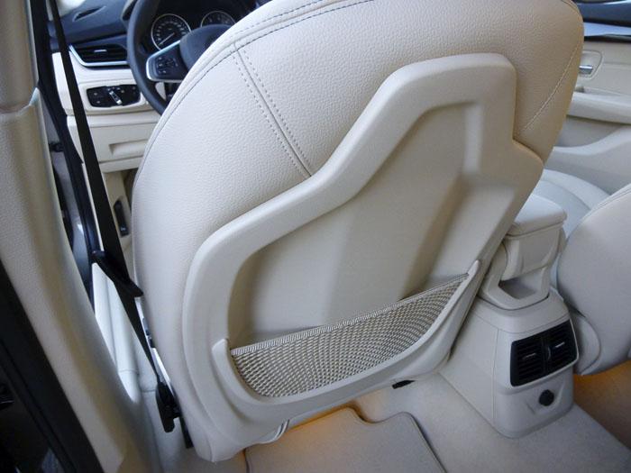 Respaldo asientos delanteros : BMW 220d xDrive Active Tourer