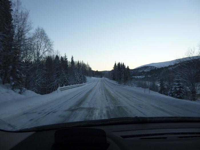Auroras77. Carreteras heladas.