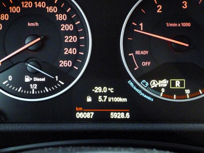 Auroras77. Frio. BMW Active Tourer.