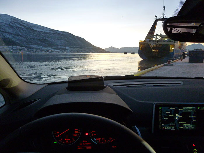 Auroras77. BMW Active Tourer. Puerto Tromso