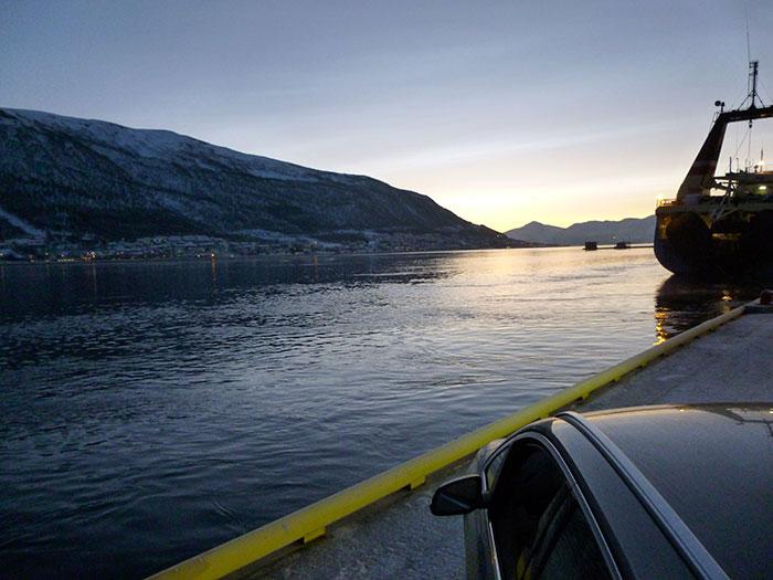 Auroras77. BMW Active Tourer. Tromso