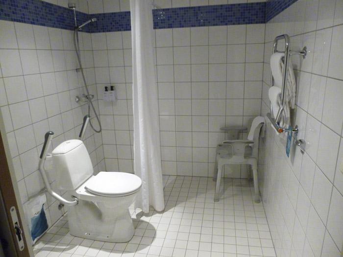 Aseo adaptado. Scandic Hotel. Trondheim