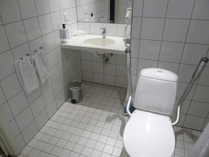 Aseo adaptado. Hotel Scandic. Trondheim