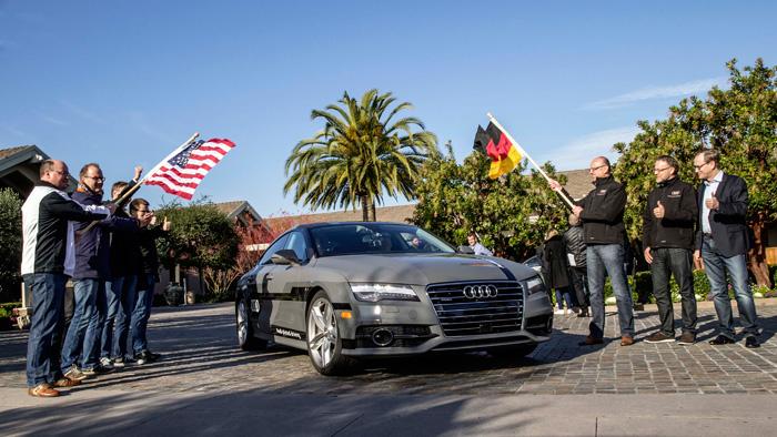 Tomando la salida en Stanford (Silicon Valley, California) el 4 de Enero, para hacer noche en Bakersfield (Cal) y llegar el 5 por la tarde a Las Vegas.