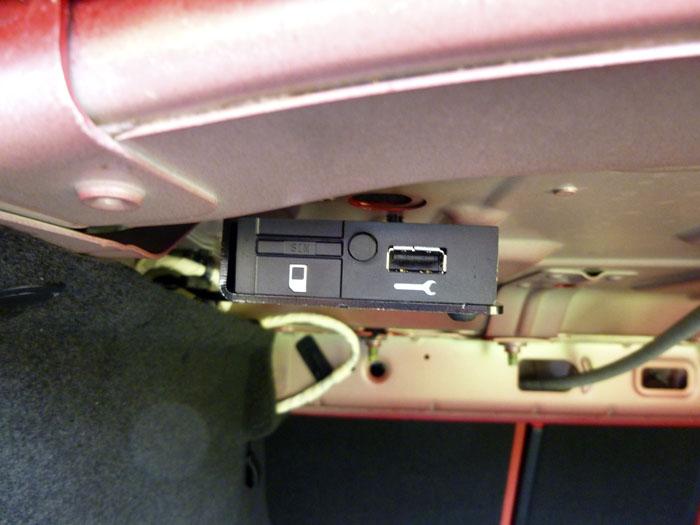 Jaguar XE. Conectores