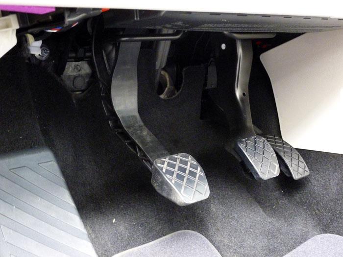 Volkswagen Touran . Pedales