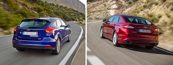 Es en la zaga básicamente donde radica la diferencia de diseño entre ambos Ford: el Focus podría pasar perfectamente por la versión familiar de dicho modelo, al estilo de los Audi Avant o Volvo V40/60.