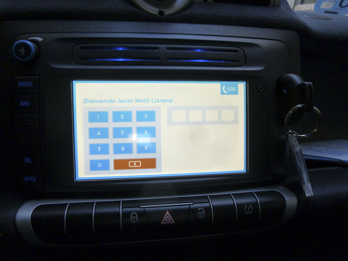 Car2go pin