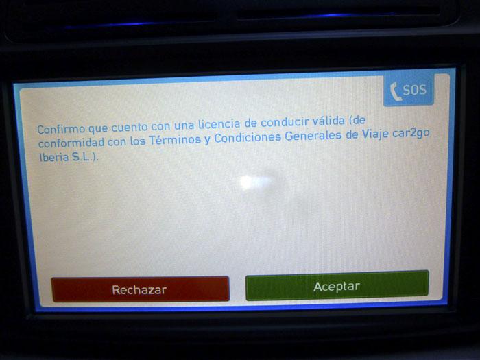 Car2go carnet