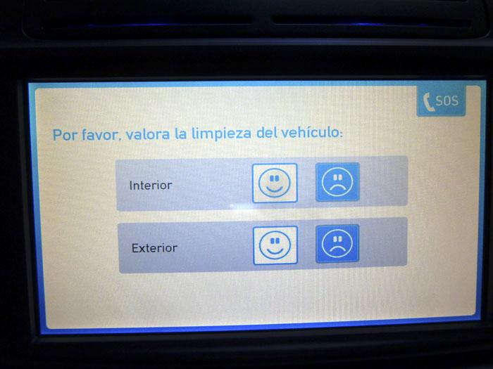 Car2go Confirmo limpieza