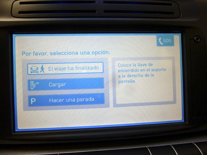 Car2go Fin de viaje