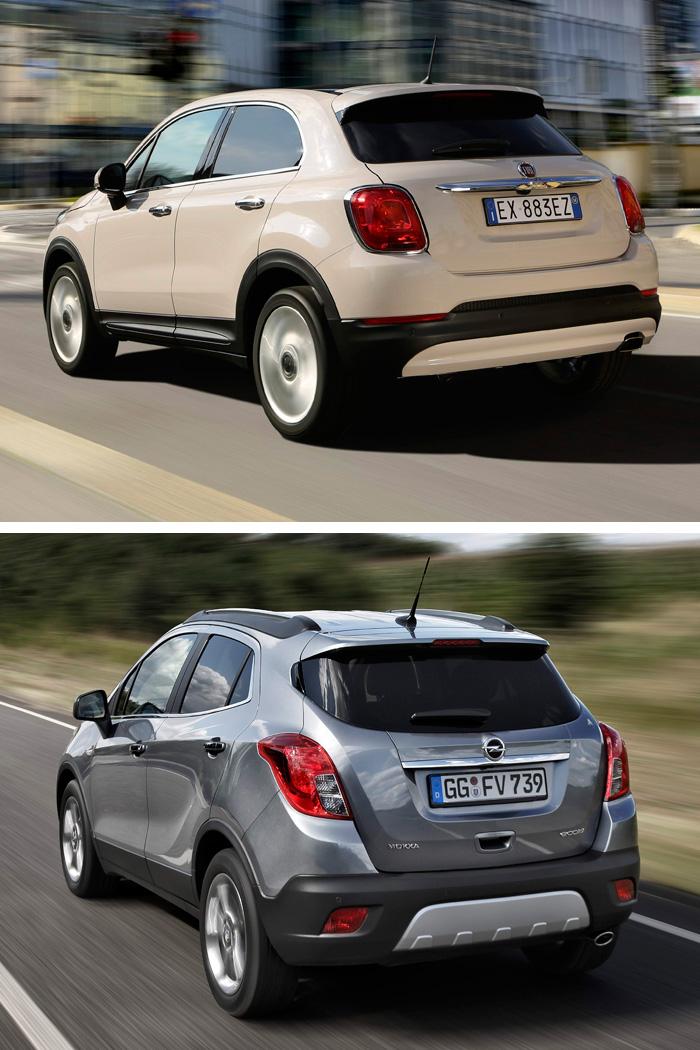 Aunque con menos diferencia que en otros aspectos, también el diseño de los asientos indica una mayor desenvoltura en el Fiat, frente al clasicismo del Opel.
