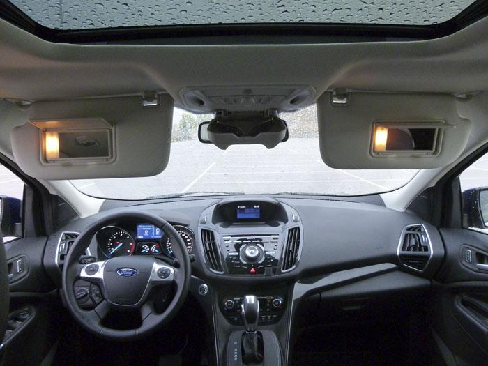 Ford Kuga. El cambio automático del Ford Kuga no puede llevarse en modo manual.
