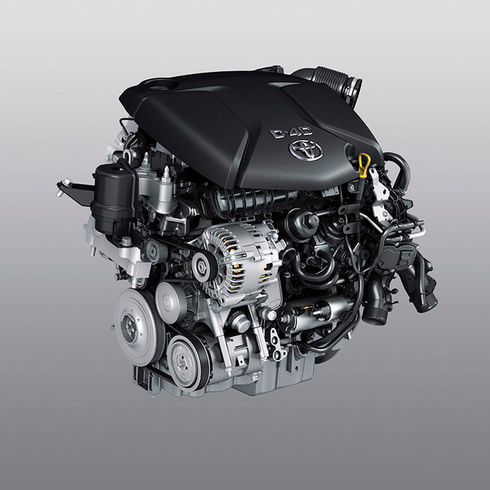 Segunda novedad, en cuestión de poco tiempo, en cuanto a los motores turbodiesel de Toyota: después del 1.6, ahora le ha tocado al 2.0 el turno de ser también sustituido por uno de origen BMW (la versión de 143 CV que montan los Mini, ya en posición transversal), a pesar del distintivo D-4D de la tapa.