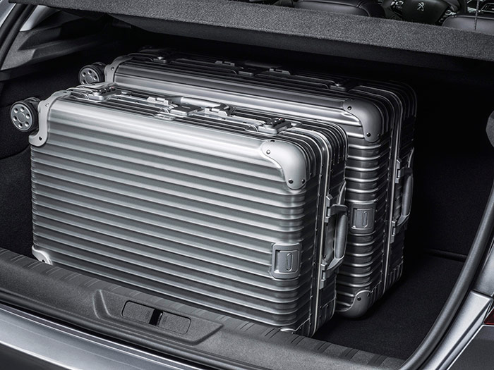 El maletero, sin ser de los más amplios, ofrece unas formas muy cúbicas, gracias en particular a su generosa cota vertical.