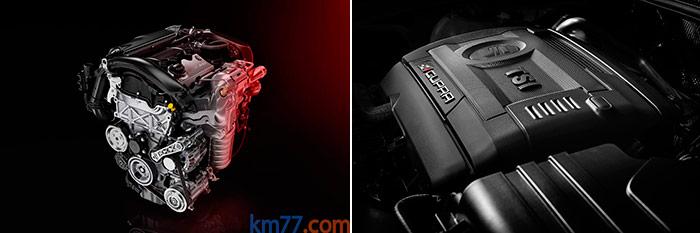 Los motores actuales parecen avergonzarse de enseñar su anatomía incluso fuera del coche, y no digamos cuando están ya metidos en su vano. Aunque lo importante es cómo responden, y estos dos lo hacen de maravilla.