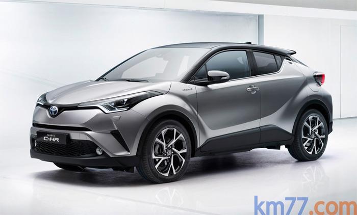 Este es el aspecto del Toyota C-HR tal cual fue presentado en Ginebra.