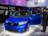 2015 Honda Fit Introduced at 2014 NAIAS