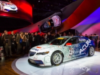 2015 Acura TLX GT Race Car Introduced at 2014 NAIAS