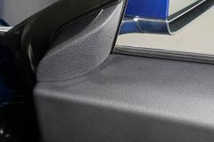 Parte superior del guarnecido de la puerta del acompañante del conductor