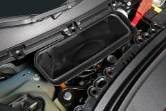 Toma de aire del sistema de climatización del vehículo.